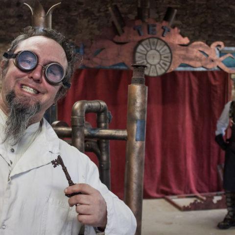 Spectacle steampunk Le Théâtre des Expériences Temporelles de Rêves Temporels