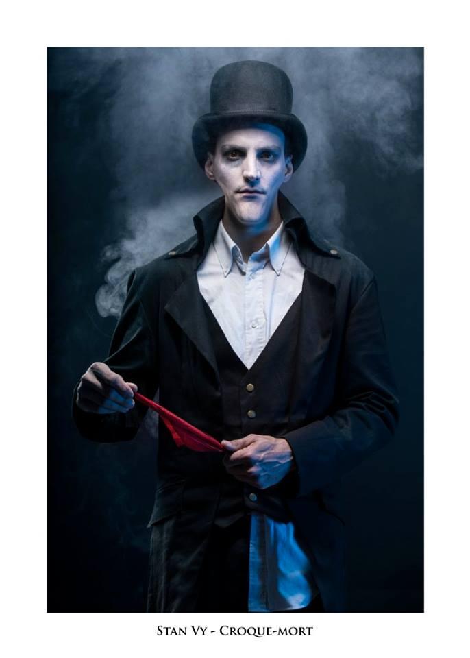 """Stan Vy - Troupe cirque freak show """"Le Fabuleux Cabariosité à Vapeur"""" de la compagnie Rêves Temporels"""
