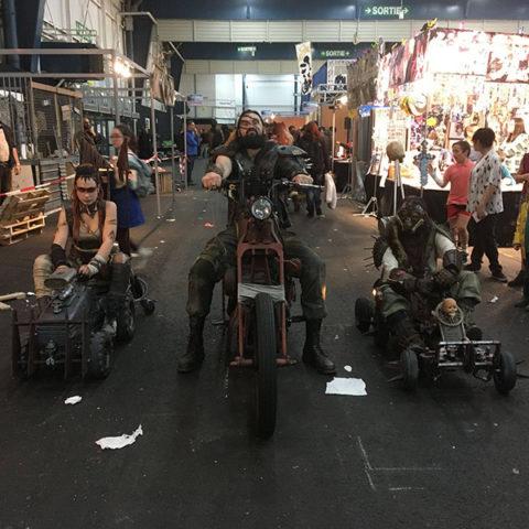 """Troupe post-apocalyptique """"Wasteland Crushers"""" de la compagnie Rêves Temporels"""