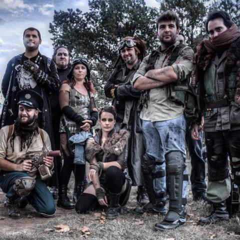 Crew de la Zombie Day Toulouse de la compagnie Rêves Temporels