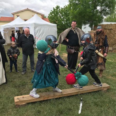 """Les guerriers - Troupe médiévale-fantastique """"Les Arpenteurs de Guldrasyl"""" de la compagnie Rêves Temporels"""