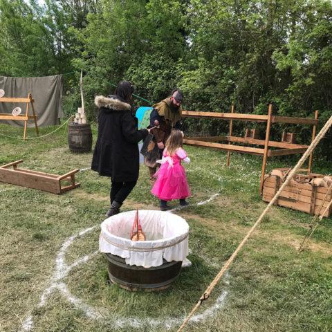 """Le parcours de l'oeuf - Troupe médiévale-fantastique """"Les Arpenteurs de Guldrasyl"""" de la compagnie Rêves Temporels"""